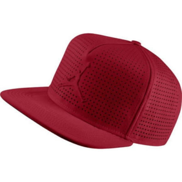 Jordan Jumpman Perforated Snapback Hat d5e9ff09d027